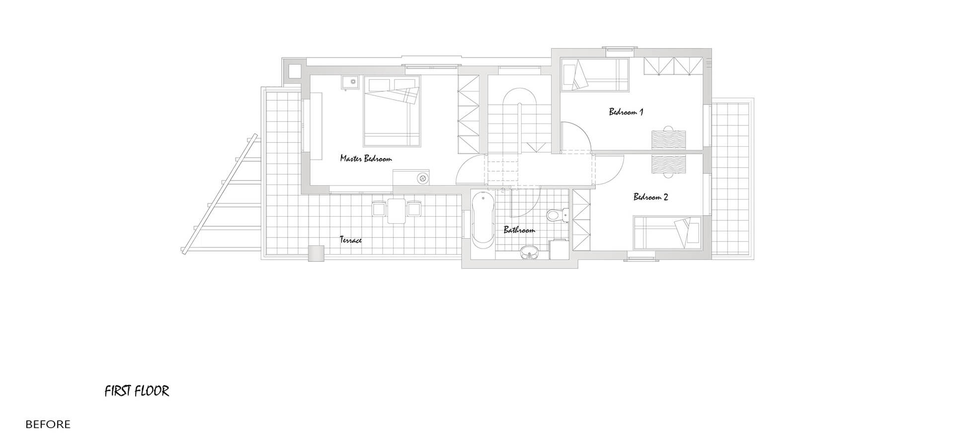 Before-1ST FLOOR PLAN