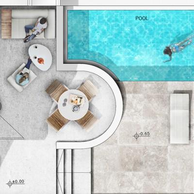 Visualisierung Architektur Graphics Presentationspläne