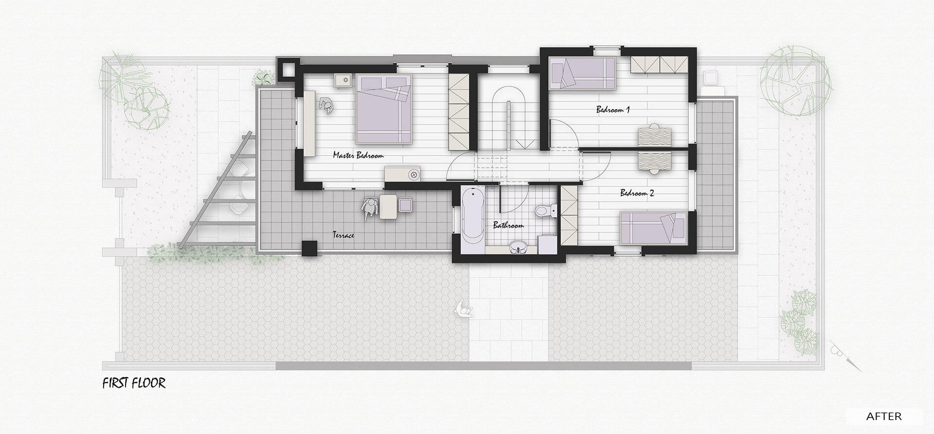 After-1ST FLOOR PLAN